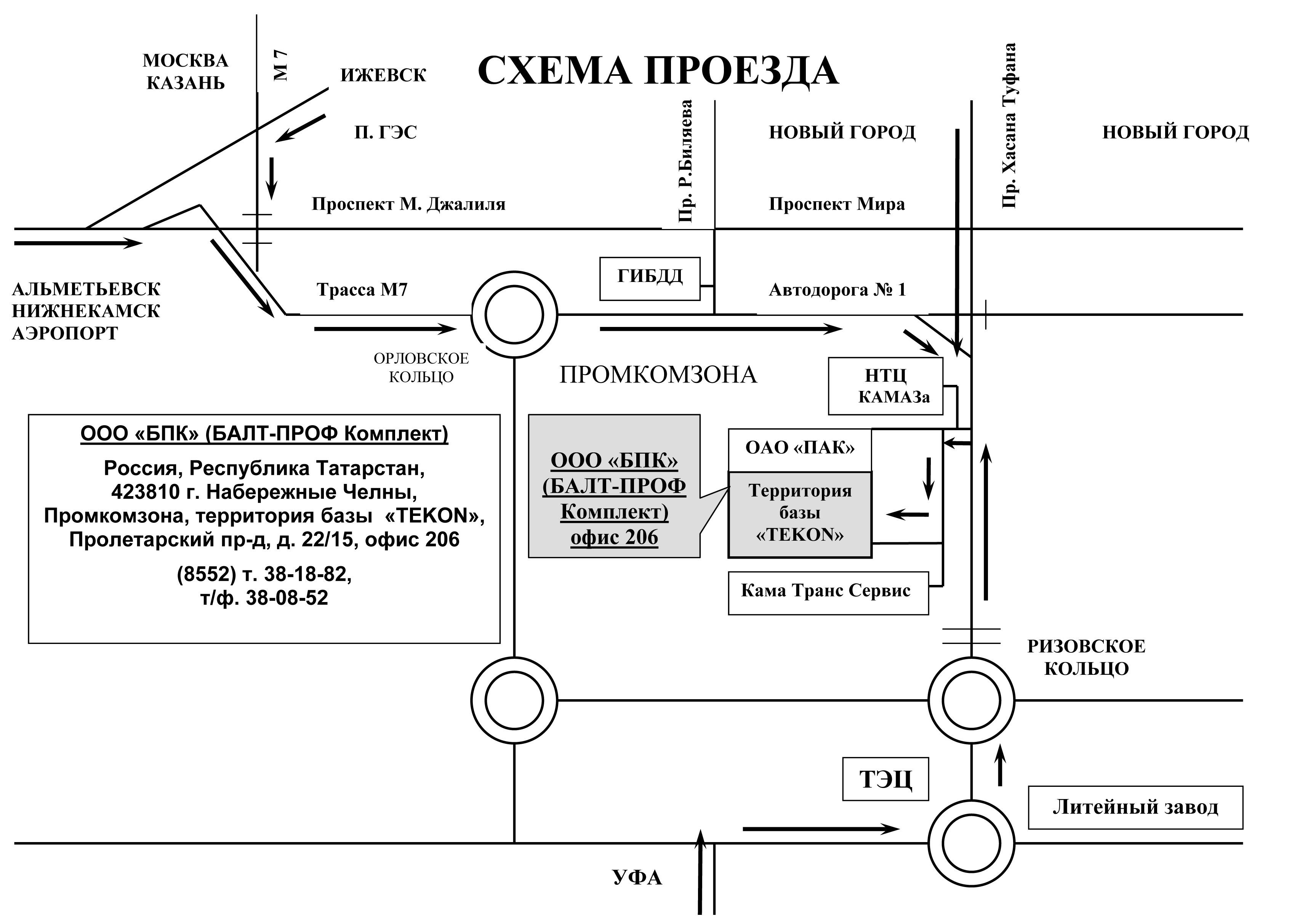 Volga@bpk.ru. Наш адрес в г.Набережные Челны Промкомзона, территория